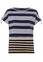 Olsen Stripe T Shirt 12 Navy