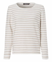 Olsen Stripe Jumper 10 Off White