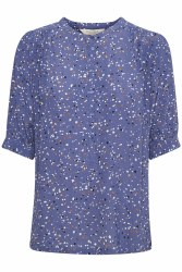 Part Two Dima Print Shirt 8 Marlin Blue Dot