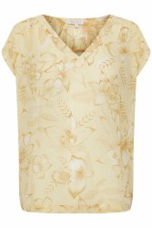 Part Two Cher Top 8 Yellow Floral