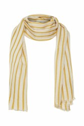 Part Two Carin Stripe Scarf Golden
