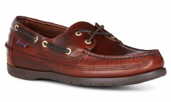 Sebago Schooner Waxed Shoes 10 UK Brown