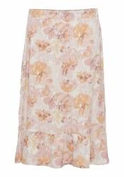 Soya Concept Print Skirt 14 Pink