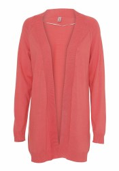 Soya Concept Open Cardigan S Pink