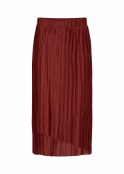 Soya Concept Pleated Skirt L Brick