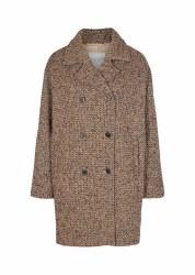 Soya Concept Tweed Coat S Black