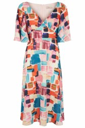Traffic People Paint Dress XS Multi