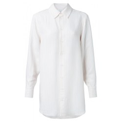 YAYA Jacquard Stripe Shirt 14 Coral