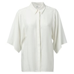 YAYA Kimino Sleeve Blouse 10 Off White