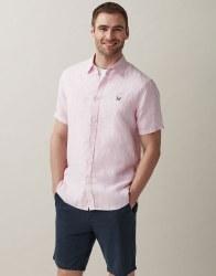 Crew Short Sleeve Linen Shirt