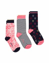 Joules Brill Bamboo Socks UK 4-8
