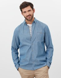 Joules Chambers Shirt S Mid Chambray