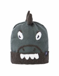 Joules Chummy Hat 3-7 years Green Dino