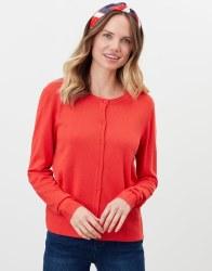 Joules Louisa Cardigan 8 Red