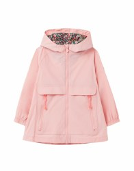 Joules Roseberry Raincoat 2   Pink