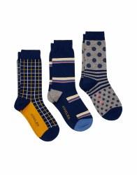 Joules Striking Socks