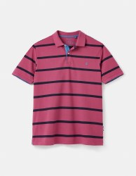 Joules Filbert Stripe Polo S Purple Stripe
