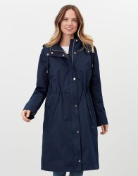 Joules Taunton Raincoat 8 Navy