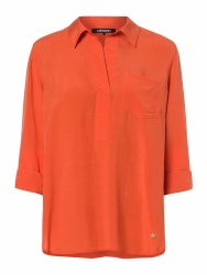 Olsen Relaxed Blouse 10 Orange