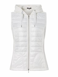 Olsen Hooded Gilet 10 White