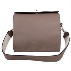 Red Cuckoo Shoulder Bag