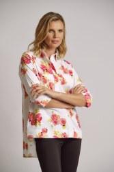 Scorzzo Floral Overshirt