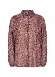Soya Concept Niara Floral Shirt S Pink