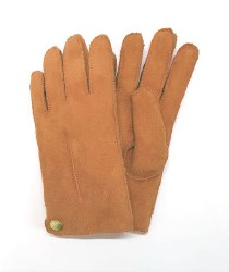 Sirena Women's Shearling Gloves S Honey