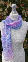Silk Scarves by Phyllis - Small Long Silk Scarf