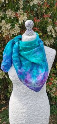 Silk Scarves by Phyllis - Large Square Silk Scarf