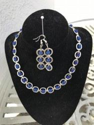 Marguerite Briggs - Blue Lava Jewellery Set