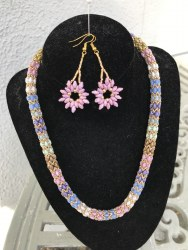Marguerite Briggs - Superduo Bead Jewellery Set