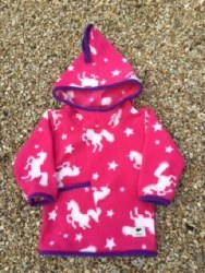 Shepi Originals Unicorn Pixie Hoodie 1-2 years Cerise