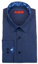 Wilson & Sloane Fine Check Shirt XL Ink