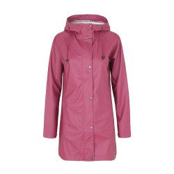 Ilse Jacobsen Rubber Raincoat 12 Maroon