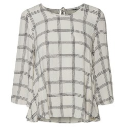 Part Two Idola Plaid Blouse