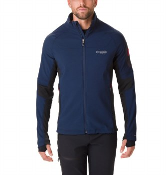 Columbia Titan Ridge Hybrid Jacket L Navy