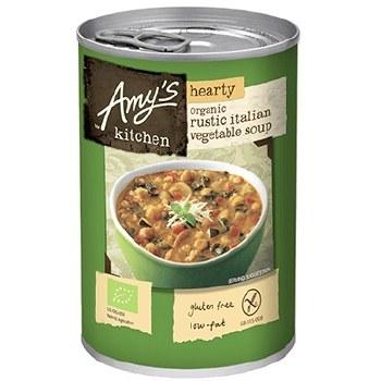 Organic Rustic Italian Vegetable Soup