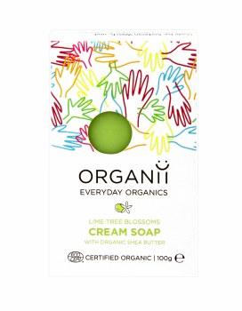 Organic Lime Tree Blossom Soap Bar