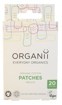 Organic Cotton Patches 7 x 2cm