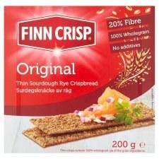 Original Thin Sourdough Rye Crispbread