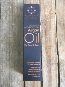 100% organic Moroccan Argan Oil for face & body