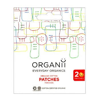 Organic Cotton Kids Patches