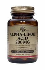 Alpha-Lipoic Acid 200 mg Vegetable Capsules