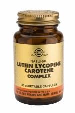 Lutein Lycopene Carotene Complex Vegetable Capsules
