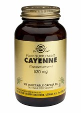 Cayenne 520mg Vegetable Capsules