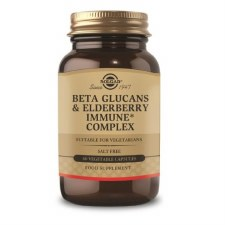 Beta Glucans & Elderberry Immune+ Complex Vegetable Capsules