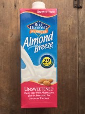 Almond Breeze Unsweetened Dairy Free Milk Alternative 1l