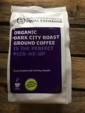 Organic Dark City Roast Ground Coffee