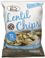 Lentil Chips - Sea Salt